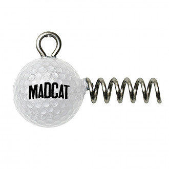 Головка-штопор DAM MADCAT Golf Ball Screw-In Jighead 60гр. 2шт./уп