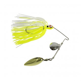 Спиннербейт Wizard Spinner Bait 14 гр. Yellow-White