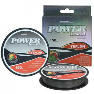 Шнур ENERGOTEAM POWER BRAID TEFLON 0,25мм 150м 17,50кг