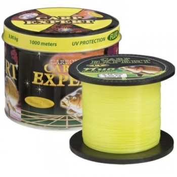 Леска Carp Expert UV Fluo Yellow 1000m 0.32mm