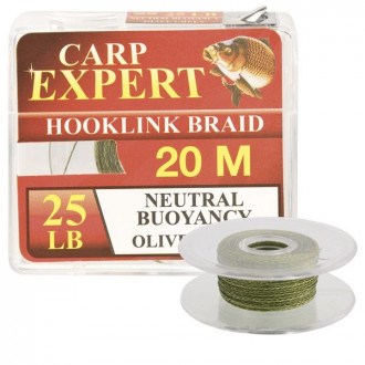 Поводковый материал CARP EXPERT NEUTRAL BUOYANCY 25lbs OLIVE GREEN 20м
